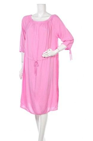 Φόρεμα Tom Tailor, Μέγεθος XL, Χρώμα Ρόζ , Βισκόζη, Τιμή 12,22€