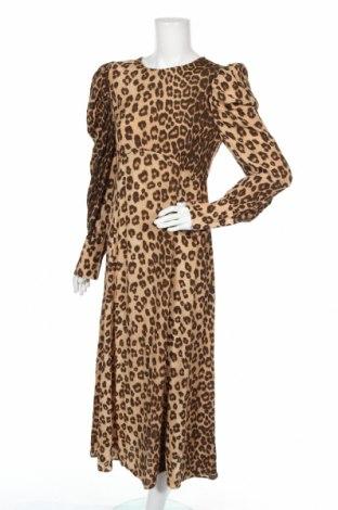 Šaty  Zara, Velikost L, Barva Béžová, Viskóza, Cena  430,00Kč