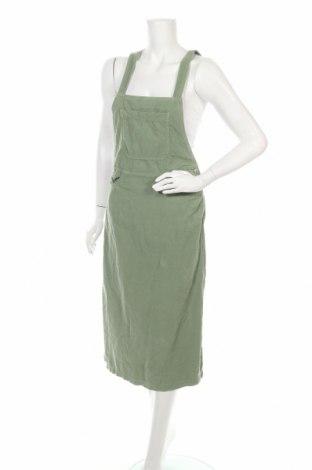 Сукман Zara, Размер XS, Цвят Зелен, Памук, Цена 12,39лв.