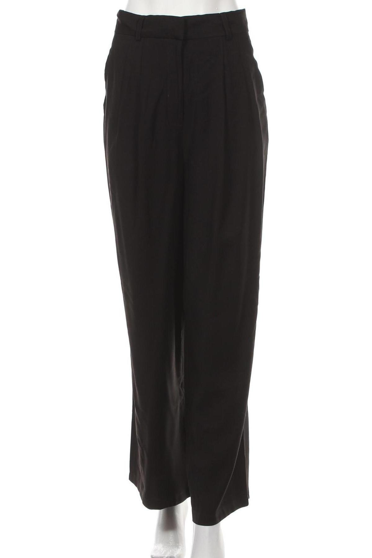 Дамски панталон Anna Field, Размер M, Цвят Черен, 90% вискоза, 10% полиестер, Цена 15,59лв.