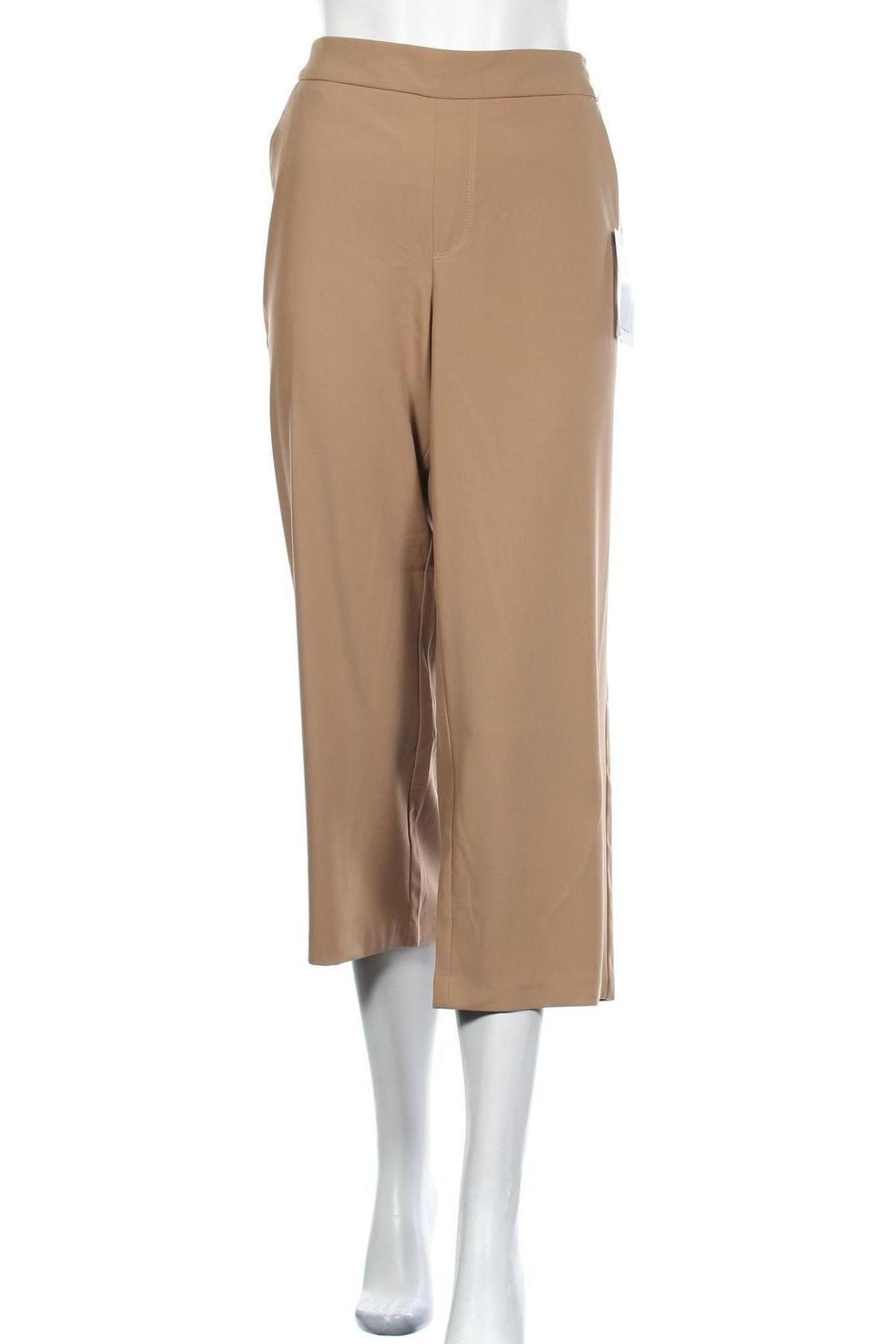 Дамски панталон Mac, Размер L, Цвят Кафяв, 91% полиестер, 9% еластан, Цена 15,42лв.