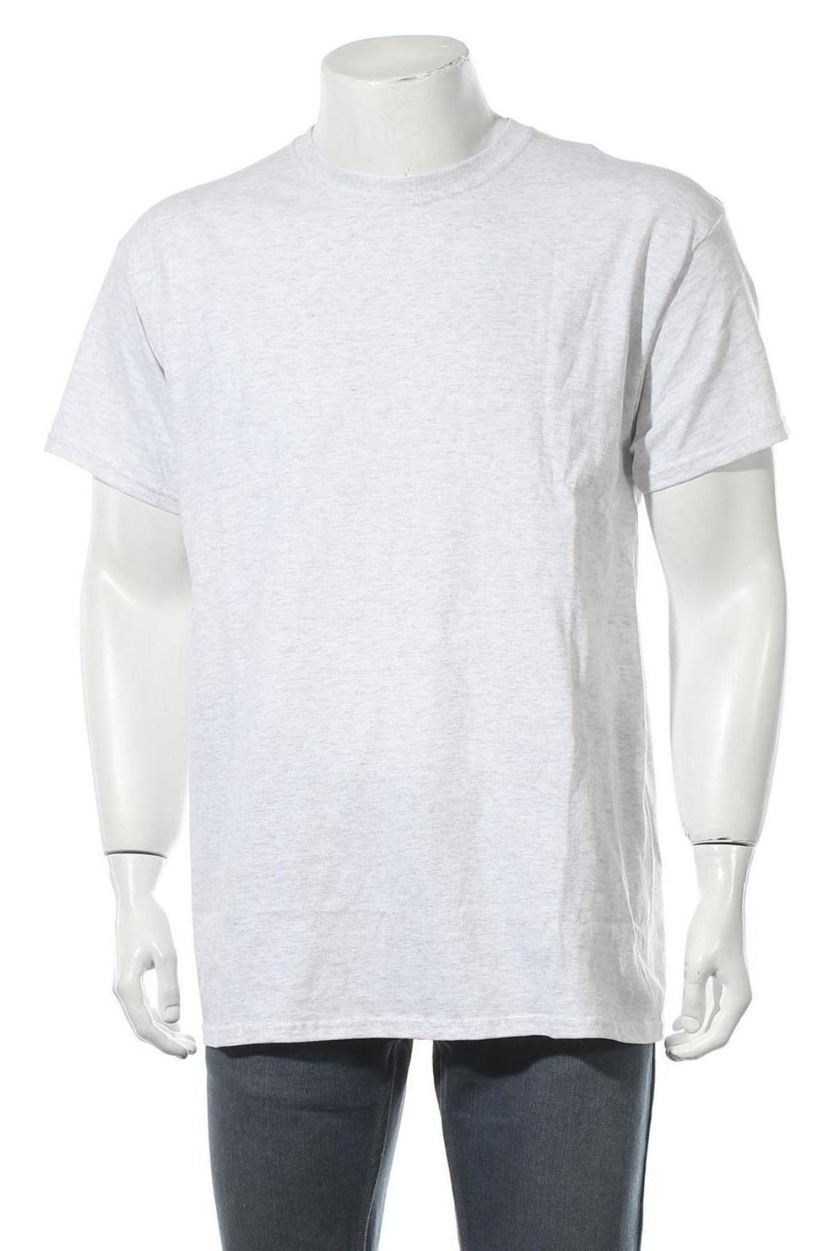 Мъжка тениска Vintage Supply, Размер L, Цвят Сив, Памук, Цена 12,48лв.