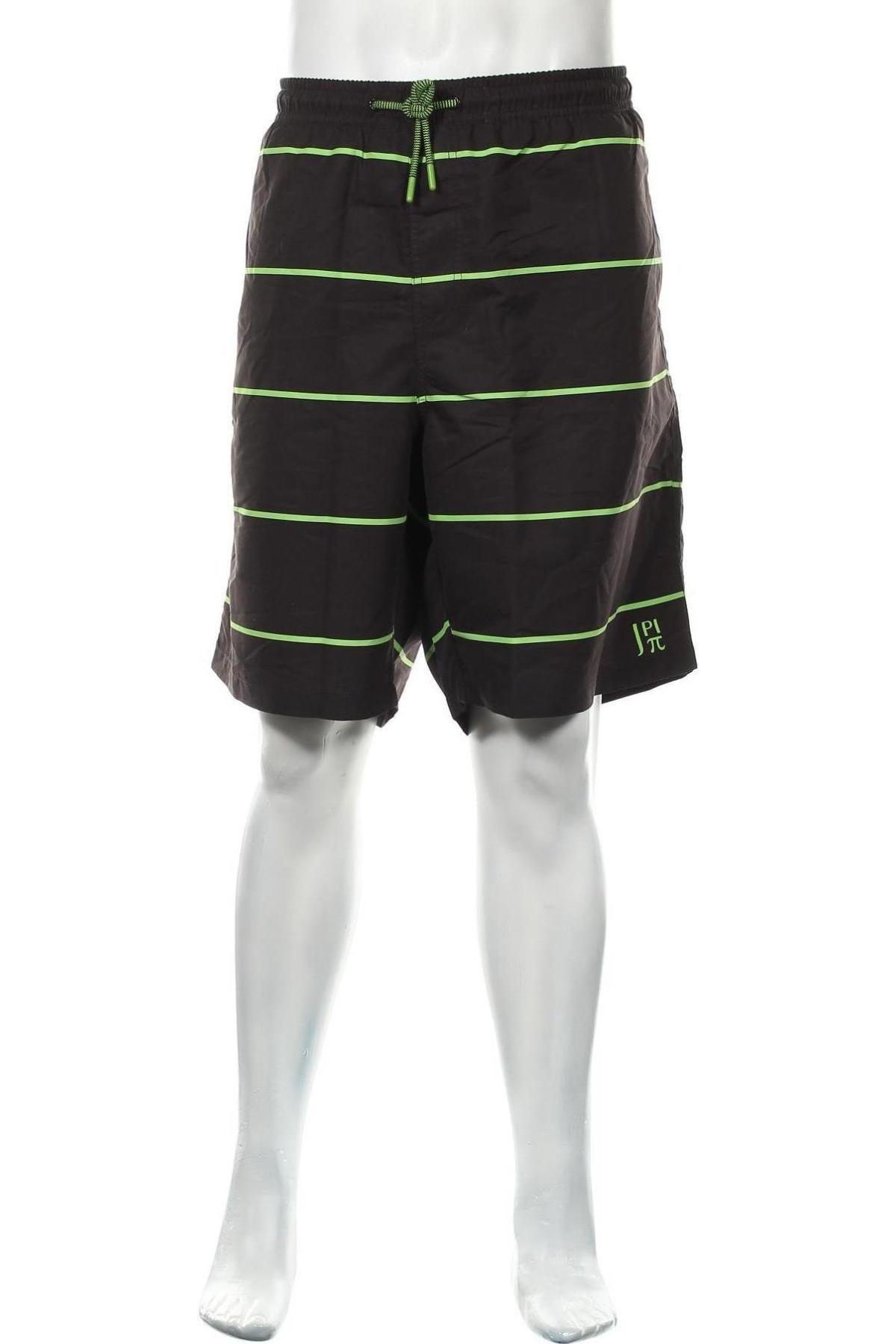 Мъжки къс панталон JP 1880, Размер 3XL, Цвят Черен, Полиестер, Цена 23,60лв.