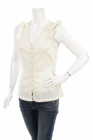Γυναικείο πουκάμισο Vero Moda, Μέγεθος M, Χρώμα  Μπέζ, 100% βαμβάκι, Τιμή 8,25€