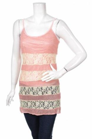 Туника, Размер S, Цвят Розов, 60% памук, 40% полиестер, Цена 3,75лв.