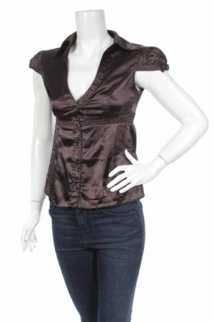 Дамска риза, Размер XS, Цвят Кафяв, Цена 4,50лв.