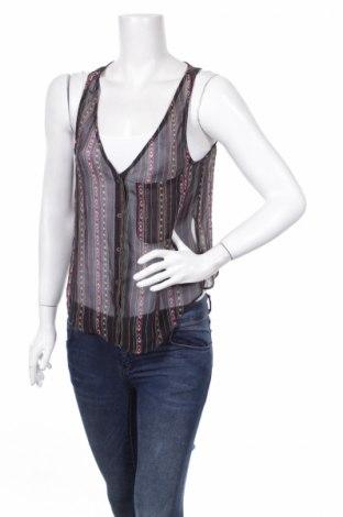 Γυναικείο πουκάμισο Forever 21, Μέγεθος S, Χρώμα Μαύρο, 100% πολυεστέρας, Τιμή 3,06€