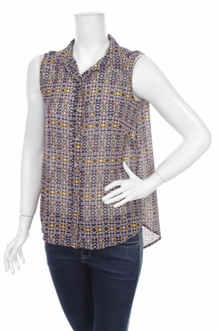 Дамска риза H&M, Размер S, Цвят Многоцветен, Полиестер, Цена 4,62лв.