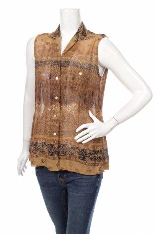 Дамска риза Hirsch, Размер M, Цвят Кафяв, Вискоза, Цена 6,48лв.
