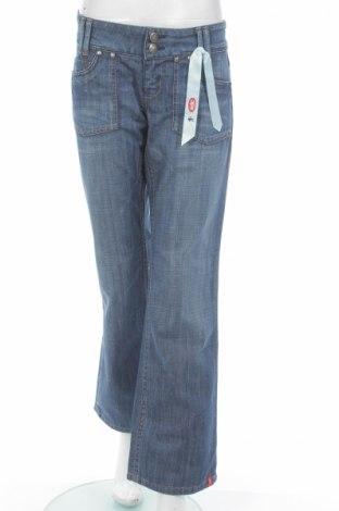 Γυναικείο Τζίν Edc By Esprit, Μέγεθος M, Χρώμα Μπλέ, 100% βαμβάκι, Τιμή 14,07€