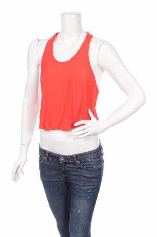 Γυναικείο αμάνικο μπλουζάκι Lush, Μέγεθος S, Χρώμα Πορτοκαλί, Βισκόζη, Τιμή 2,99€