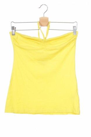 Детски потник Charles Vogele, Размер 15-18y/ 170-176 см, Цвят Жълт, 95% памук, 5% еластан, Цена 3,00лв.