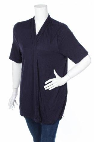 Дамска блуза Anna Aura, Размер XL, Цвят Син, 95% вискоза, 5% еластан, Цена 9,30лв.