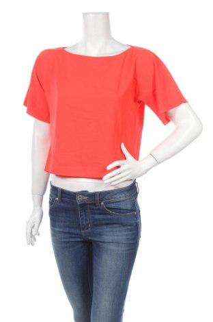 Дамска блуза Zebra, Размер S, Цвят Оранжев, Полиестер, Цена 3,21лв.