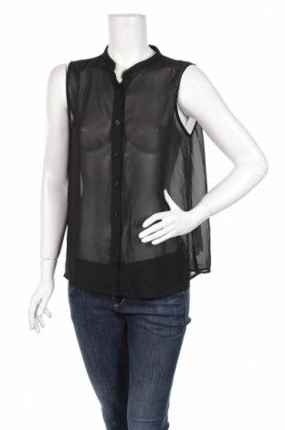 Дамска риза Cotton On, Размер M, Цвят Черен, 100% полиестер, Цена 4,25лв.
