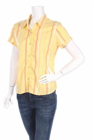 Γυναικείο πουκάμισο Eider, Μέγεθος M, Χρώμα Κίτρινο, 62% βαμβάκι, 33% πολυαμίδη, 5% lyocell, Τιμή 6,03€