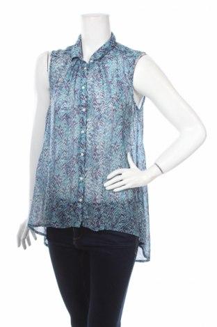 Дамска риза H&M, Размер L, Цвят Син, Цена 5,50лв.