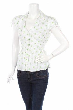 Дамска риза Tally Weijl, Размер M, Цвят Бял, Памук, Цена 5,25лв.