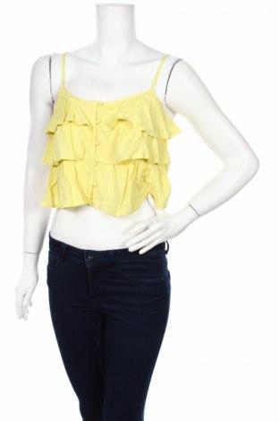 Дамска риза Twentyfourseven, Размер M, Цвят Жълт, 100% вискоза, Цена 18,55лв.