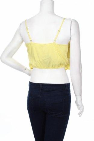 Γυναικείο πουκάμισο Twentyfourseven, Μέγεθος M, Χρώμα Κίτρινο, 100% βισκόζη, Τιμή 2,71€
