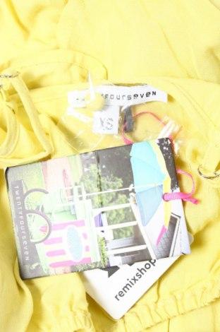 Γυναικείο πουκάμισο Twentyfourseven, Μέγεθος XS, Χρώμα Κίτρινο, 100% βισκόζη, Τιμή 2,71€