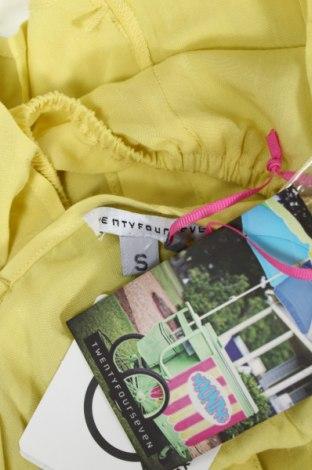 Γυναικείο πουκάμισο Twentyfourseven, Μέγεθος S, Χρώμα Κίτρινο, 100% βισκόζη, Τιμή 2,71€