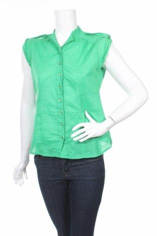 Дамска риза Vero Moda, Размер M, Цвят Зелен, 100% памук, Цена 7,15лв.