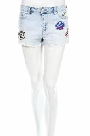 Γυναικείο κοντό παντελόνι Forever New, Μέγεθος S, Χρώμα Μπλέ, 98% βαμβάκι, 2% ελαστάνη, Τιμή 8,90€
