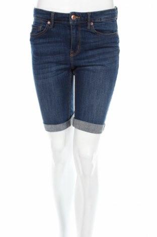 Γυναικείο κοντό παντελόνι H&M L.o.g.g, Μέγεθος M, Χρώμα Μπλέ, 98% βαμβάκι, 2% ελαστάνη, Τιμή 7,14€