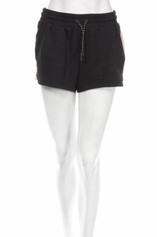 Γυναικείο κοντό παντελόνι H&M Sport, Μέγεθος S, Χρώμα Μαύρο, 63% βαμβάκι, 32% βισκόζη, 5% ελαστάνη, Τιμή 4,73€