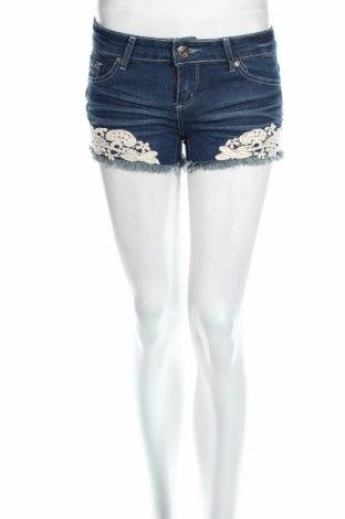 Γυναικείο κοντό παντελόνι Hydee by Chicoree, Μέγεθος XS, Χρώμα Μπλέ, 98% βαμβάκι, 2% ελαστάνη, Τιμή 6,44€