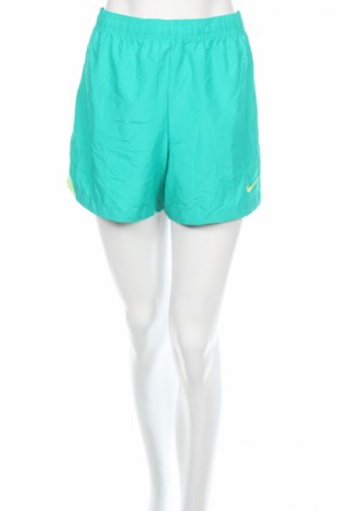 Γυναικείο κοντό παντελόνι Nike, Μέγεθος L, Χρώμα Πράσινο, Πολυεστέρας, Τιμή 7,79€