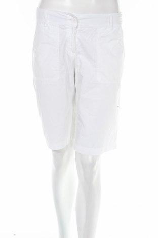 Γυναικείο κοντό παντελόνι S.Oliver, Μέγεθος S, Χρώμα Λευκό, 100% βαμβάκι, Τιμή 3,47€