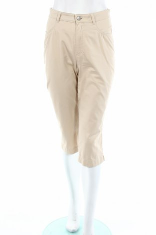 Дамски панталон Aline, Размер S, Цвят Бежов, 98% памук, 2% еластан, Цена 7,57лв.