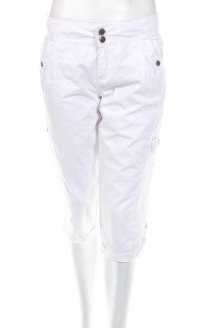 Дамски панталон Chicoree, Размер M, Цвят Бял, 100% памук, Цена 5,22лв.