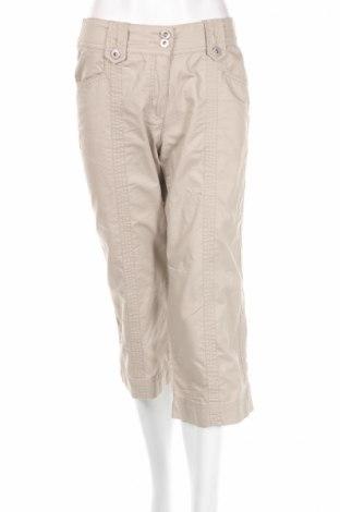 Дамски панталон K Collection, Размер S, Цвят Бежов, 100% памук, Цена 7,13лв.
