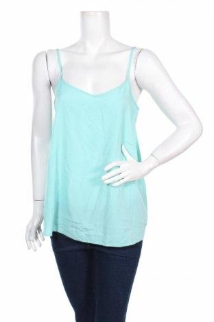 Γυναικείο αμάνικο μπλουζάκι Ann Christine, Μέγεθος L, Χρώμα Μπλέ, 100% πολυεστέρας, Τιμή 2,48€