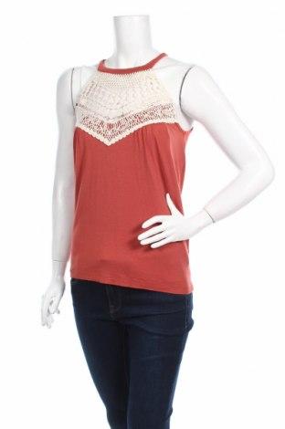 Γυναικείο αμάνικο μπλουζάκι Bodyflirt, Μέγεθος XS, Χρώμα Πορτοκαλί, Τιμή 4,42€