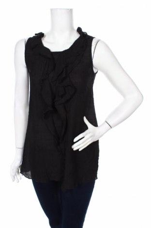 Γυναικείο αμάνικο μπλουζάκι Flash, Μέγεθος S, Χρώμα Μαύρο, 60% βισκόζη, 40% πολυεστέρας, Τιμή 3,71€