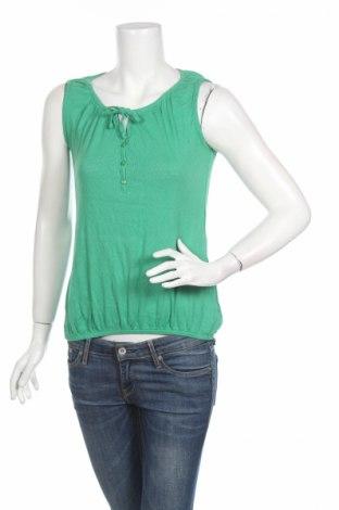 Γυναικείο αμάνικο μπλουζάκι Gin Tonic, Μέγεθος M, Χρώμα Πράσινο, Βαμβάκι, Τιμή 3,47€