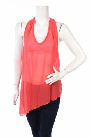 Γυναικείο αμάνικο μπλουζάκι Poetry, Μέγεθος L, Χρώμα Κόκκινο, Πολυεστέρας, Τιμή 6,18€