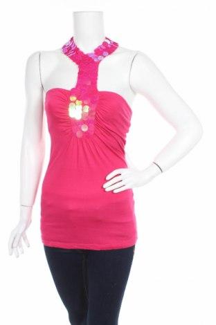 Γυναικείο αμάνικο μπλουζάκι South, Μέγεθος XS, Χρώμα Ρόζ , Βισκόζη, Τιμή 3,23€