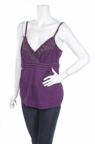 Γυναικείο αμάνικο μπλουζάκι Tiffosi, Μέγεθος L, Χρώμα Βιολετί, Τιμή 3,52€