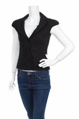 Дамско сако Clockhouse, Размер S, Цвят Черен, 52% памук, 37% полиестер, 11% вискоза, Цена 7,28лв.