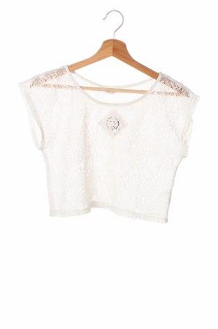Детска блуза H&M, Размер 12-13y/ 158-164 см, Цвят Бял, Цена 4,00лв.