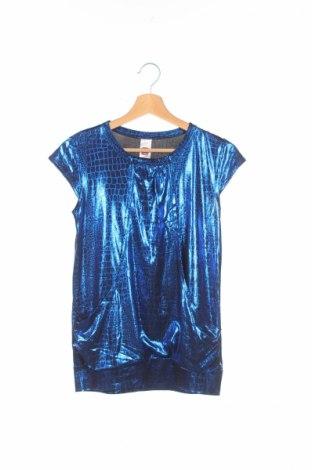 Детска блуза Here+There, Размер 12-13y/ 158-164 см, Цвят Син, 92% полиестер, 8% еластан, Цена 3,08лв.