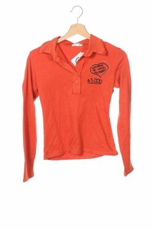 Детска блуза Light, Размер 14-15y/ 168-170 см, Цвят Оранжев, 65% полиестер, 35% памук, Цена 6,40лв.