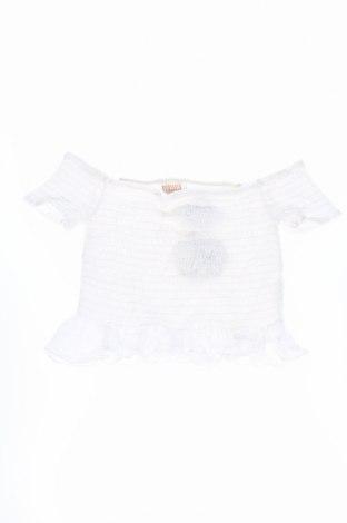 Детска блуза Mooloola, Размер 13-14y/ 164-168 см, Цвят Бял, Памук, Цена 8,00лв.