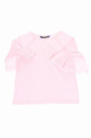 Bluză de copii Polo By Ralph Lauren, Mărime 5-6y/ 116-122 cm, Culoare Roz, 60% bumbac, 40% modal, Preț 56,17 Lei