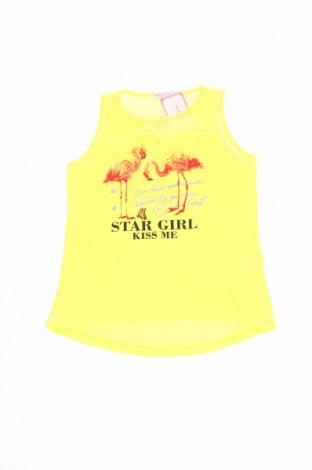 Detské tielko  Mini Club, Veľkosť 13-14y/ 164-168 cm, Farba Žltá, 65% bavlna, 35% polyester, Cena  5,16€